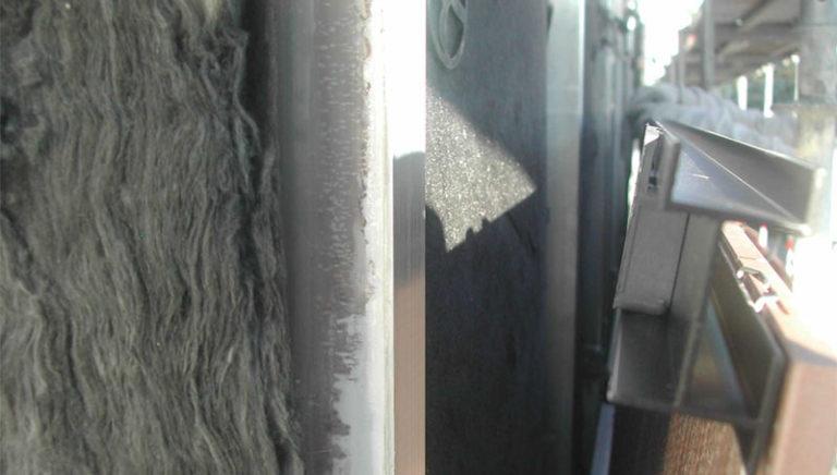 bardage métallique façade